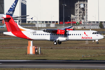 F-WWEB - Avianca ATR 72 (all models)