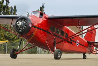 NC709Y - Alaska Airlines Fairchild 100 A