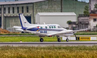 9A-SIB - Air Pannonia Beechcraft 90 King Air