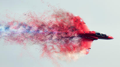 "XX177 - Royal Air Force ""Red Arrows"" British Aerospace Hawk T.1/ 1A"