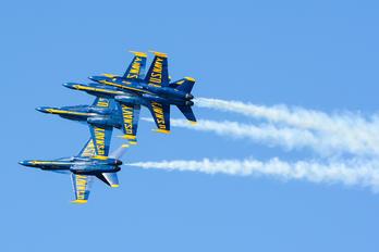 - - USA - Navy : Blue Angels McDonnell Douglas F-18D Hornet