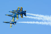 - - USA - Navy : Blue Angels McDonnell Douglas F-18D Hornet aircraft