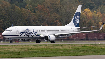 N487AS - Alaska Airlines Boeing 737-900ER