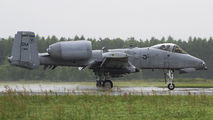81-0966 - USA - Air Force Fairchild A-10 Thunderbolt II (all models) aircraft