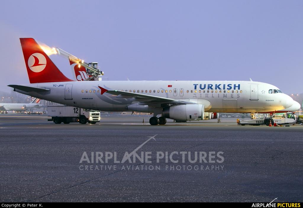 Turkish Airlines TC-JPR aircraft at Berlin - Tegel