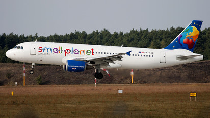 SP-HAE - Small Planet Airlines Airbus A320