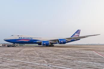VQ-VBV - Silk Way Airlines Boeing 747-8F