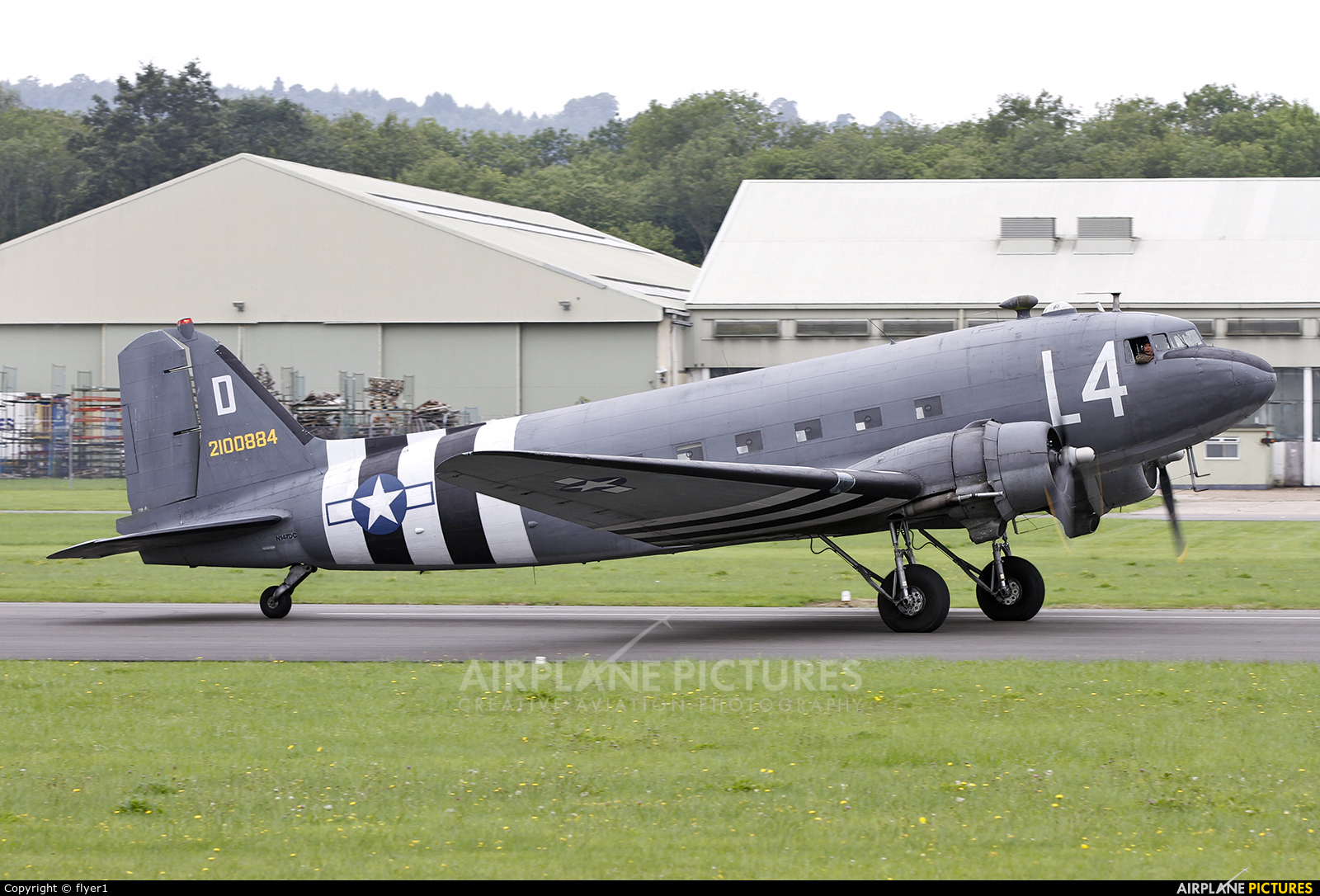 Aces High N147DC aircraft at Yeovilton