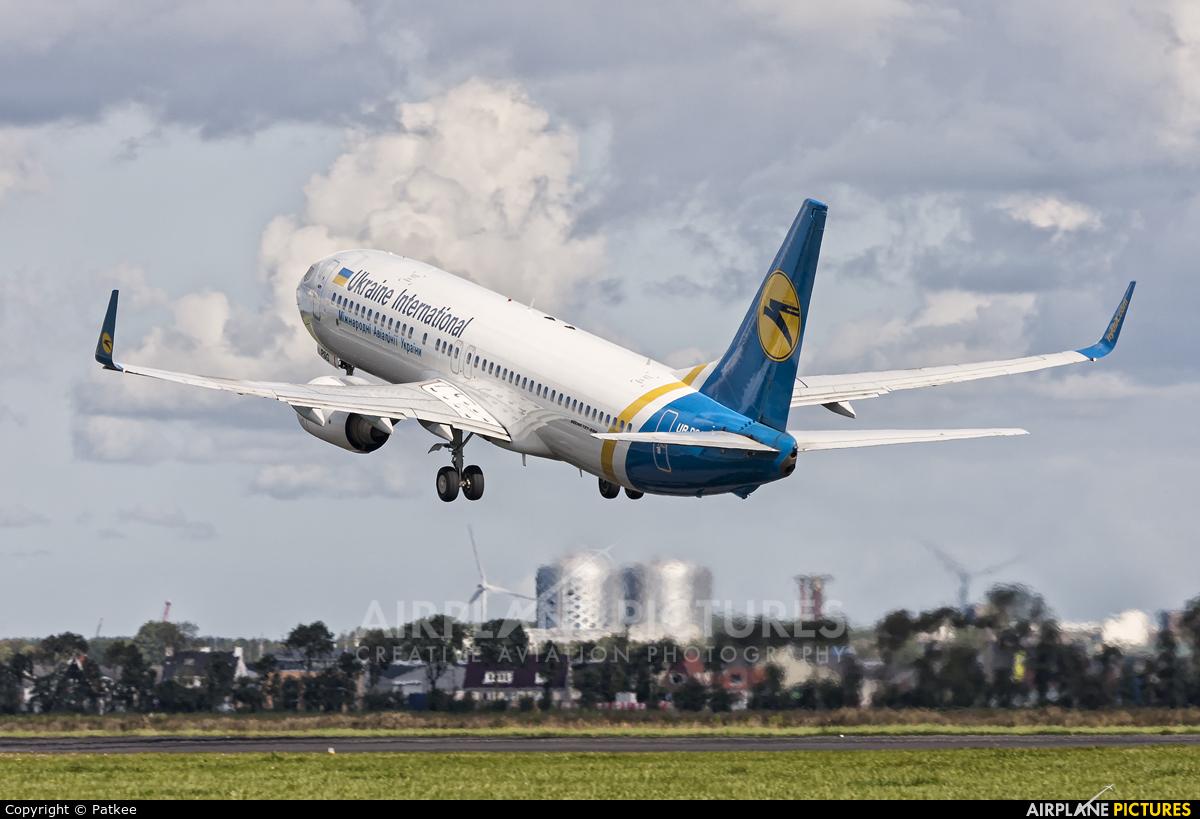 Ukraine International Airlines UR-PSG aircraft at Amsterdam - Schiphol