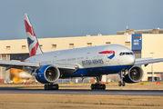 G-VIIH - British Airways Boeing 777-200 aircraft