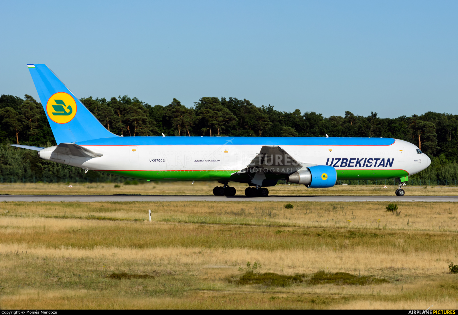 Uzbekistan Airways UK67002 aircraft at Frankfurt