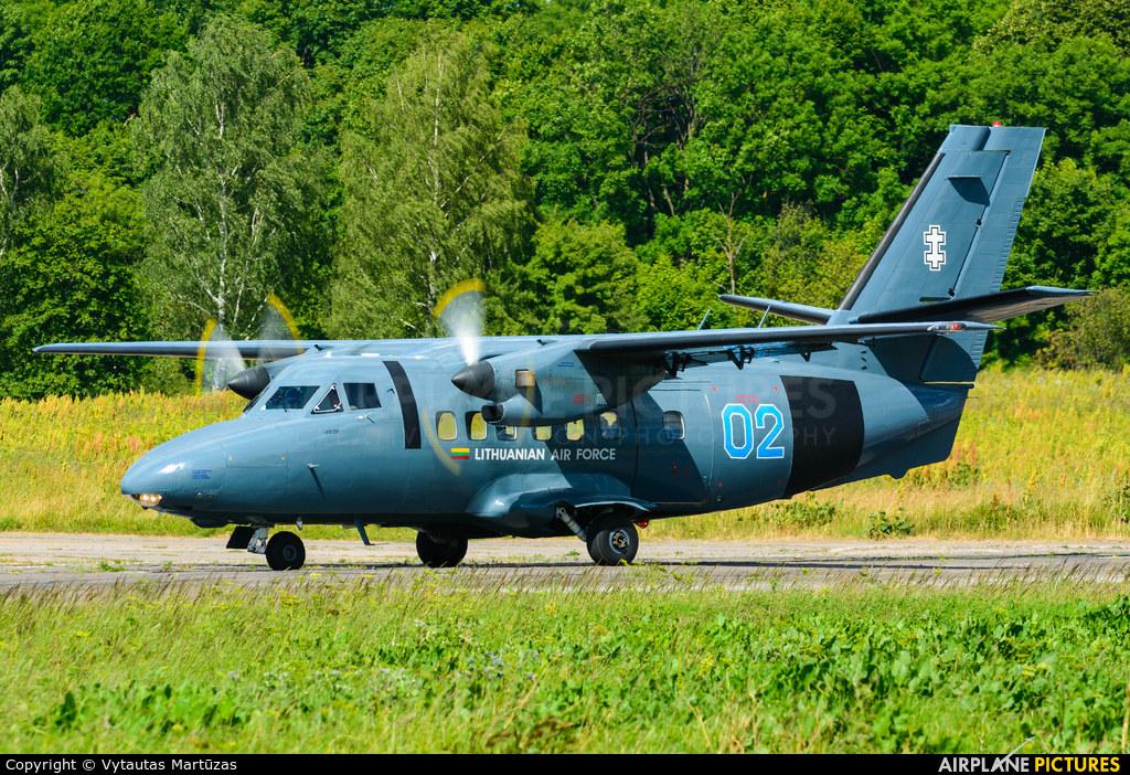 Lithuania - Air Force 02 aircraft at Aleksotas - S. Dariaus and S. Gireno