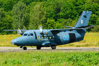 02 - Lithuania - Air Force LET L-410UVP Turbolet