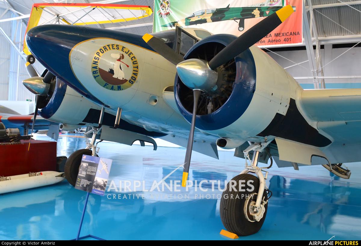 Mexico - Air Force ETL-1320 aircraft at Santa Lucia AB