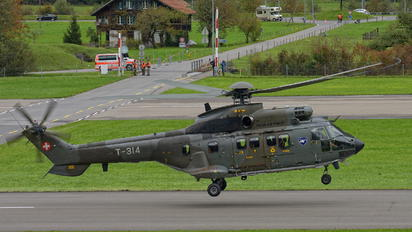 T-314 - Switzerland - Air Force Aerospatiale AS332 Super Puma