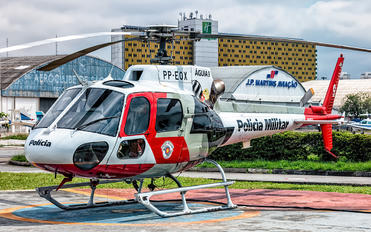PP-EOX - Brazil - Military Police Aerospatiale AS350 Ecureuil / Squirrel
