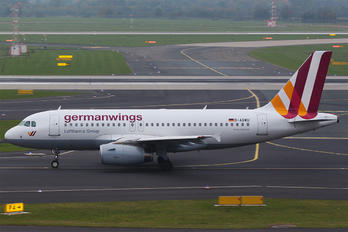 D-AGWU - Germanwings Airbus A319
