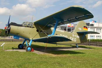 D-FONG - Interflug Antonov An-2