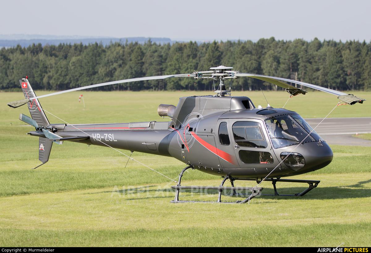 Swift Copters HB-ZSL aircraft at Spa - La Sauveniere