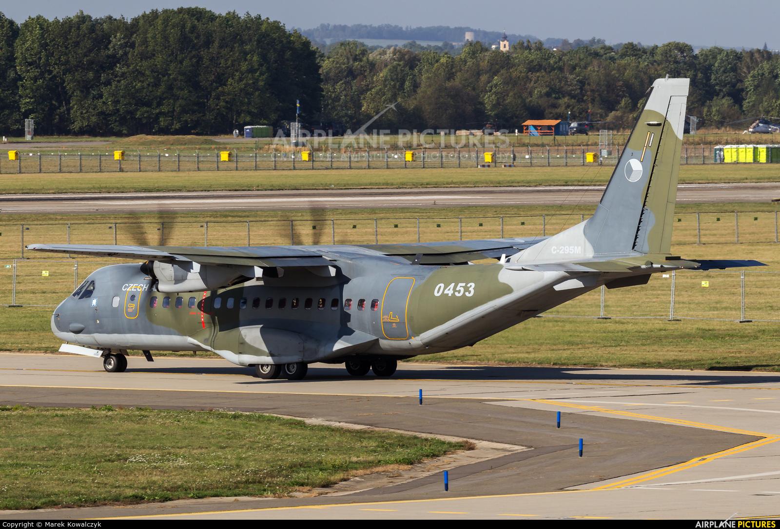 Czech - Air Force 0453 aircraft at Ostrava Mošnov