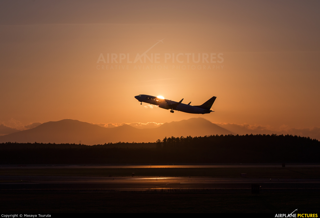 Skymark Airlines JA737U aircraft at New Chitose