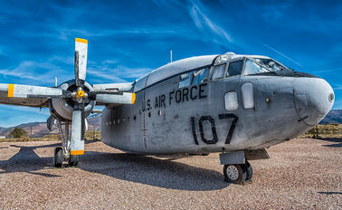 107 - USA - Air Force Fairchild C-119 Flying Boxcar
