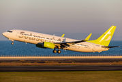 JA806X - Solaseed Air - Skynet Asia Airways Boeing 737-800 aircraft