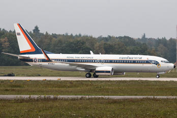 N780BJ - Thailand - Air Force Boeing 737-800