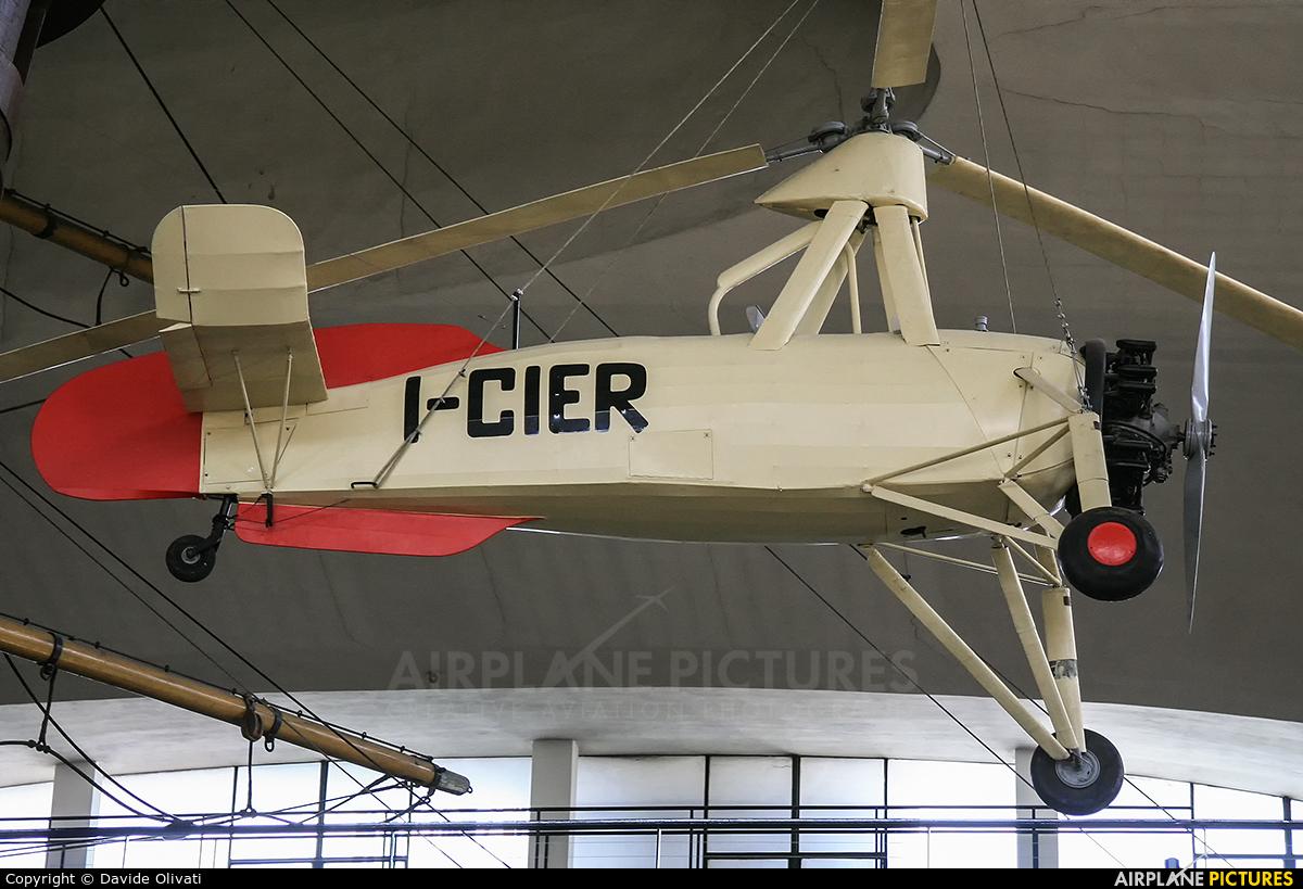 Private I-CIER aircraft at Off Airport - Italy