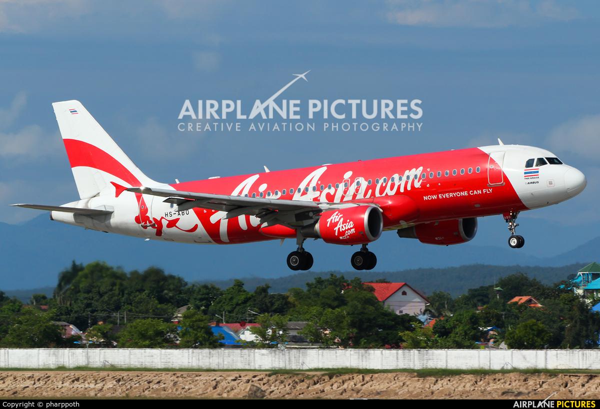 AirAsia (Thailand) HS-ABO aircraft at Chiang-Mai