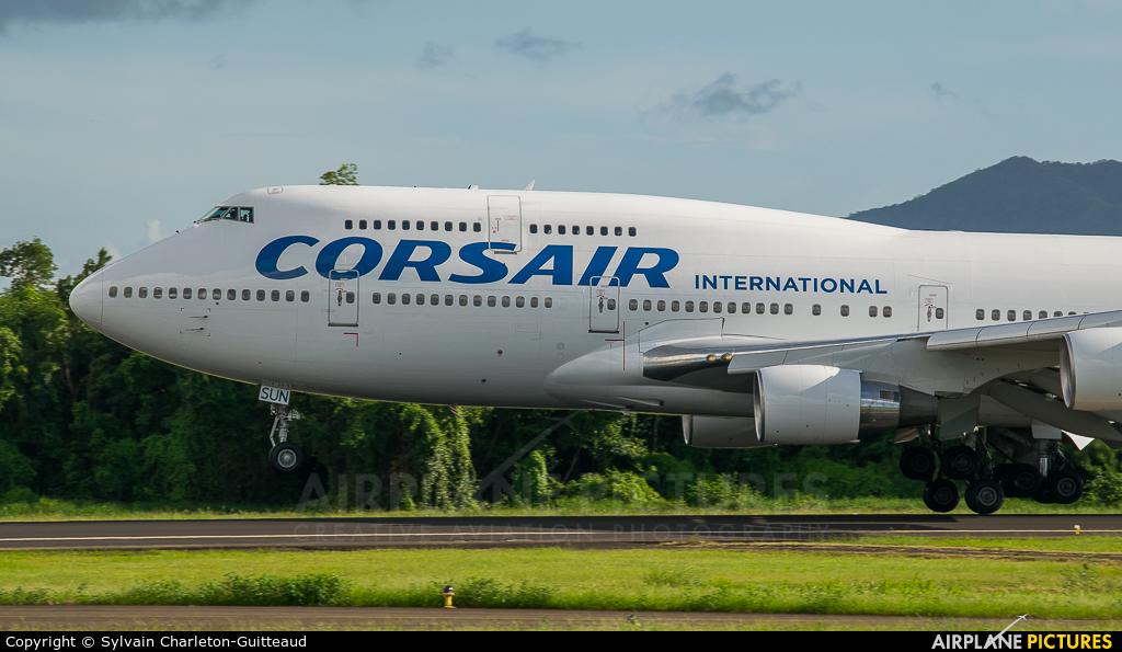 Corsair / Corsair Intl F-HSUN aircraft at Martinique - Aimé Césaire