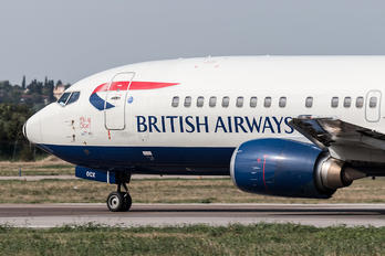 G-DOCX - British Airways Boeing 737-400