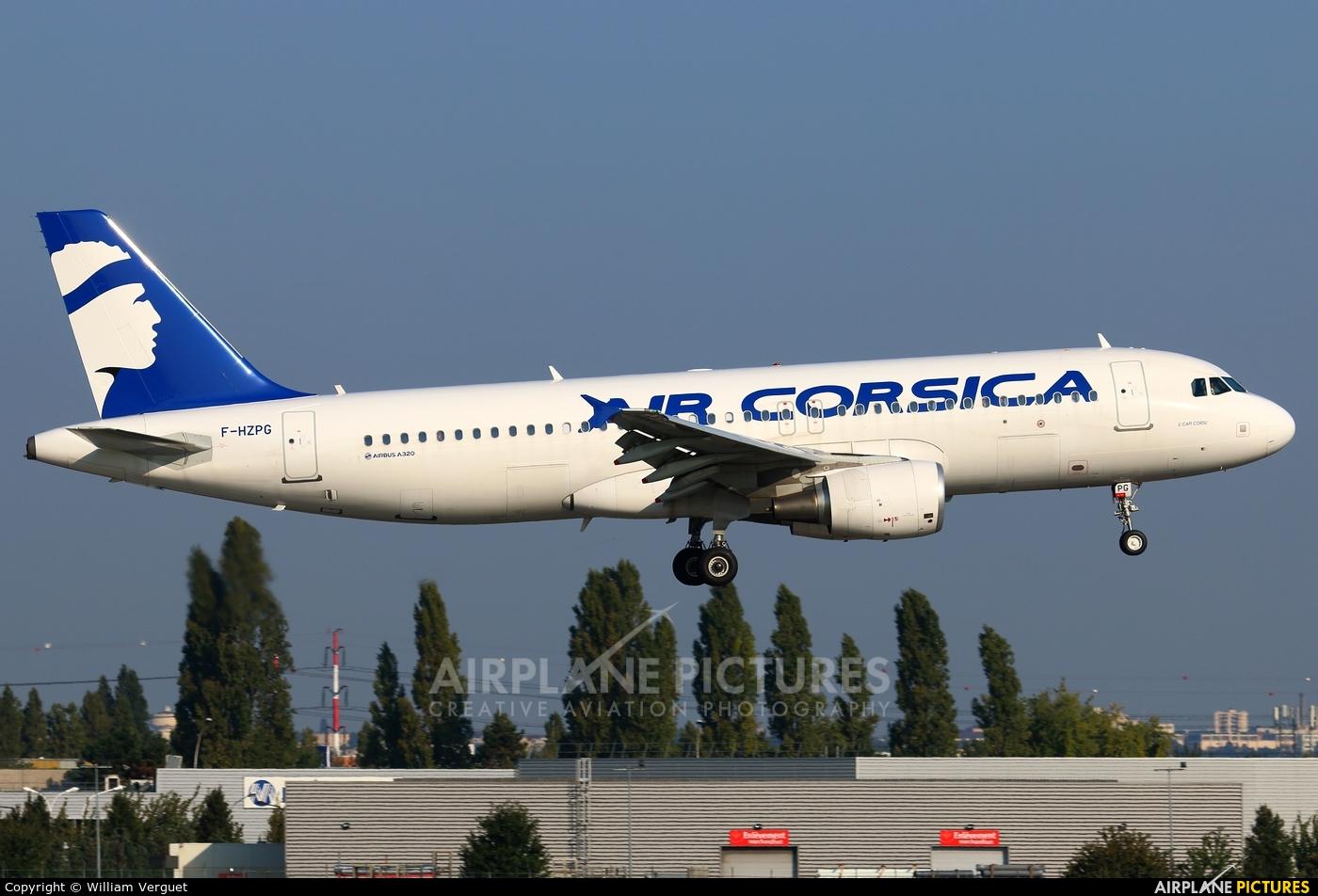 Air Corsica F-HZPG aircraft at Paris - Orly