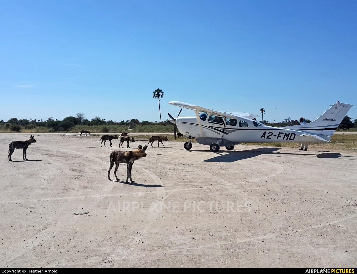 Mack Air A2-FMD aircraft at Chitabe Airstrip