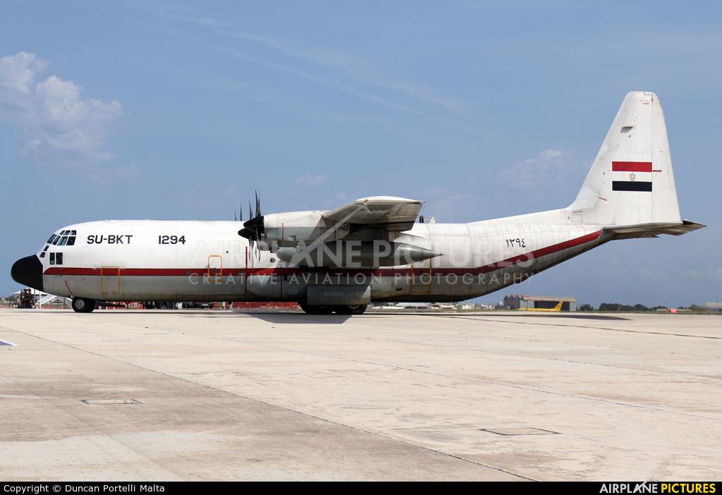 Egypt - Air Force SU-BKT aircraft at Malta Intl
