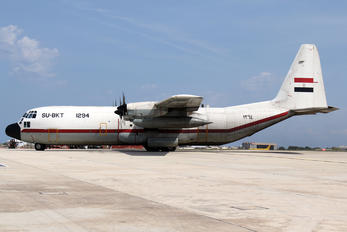 SU-BKT - Egypt - Air Force Lockheed C-130H Hercules