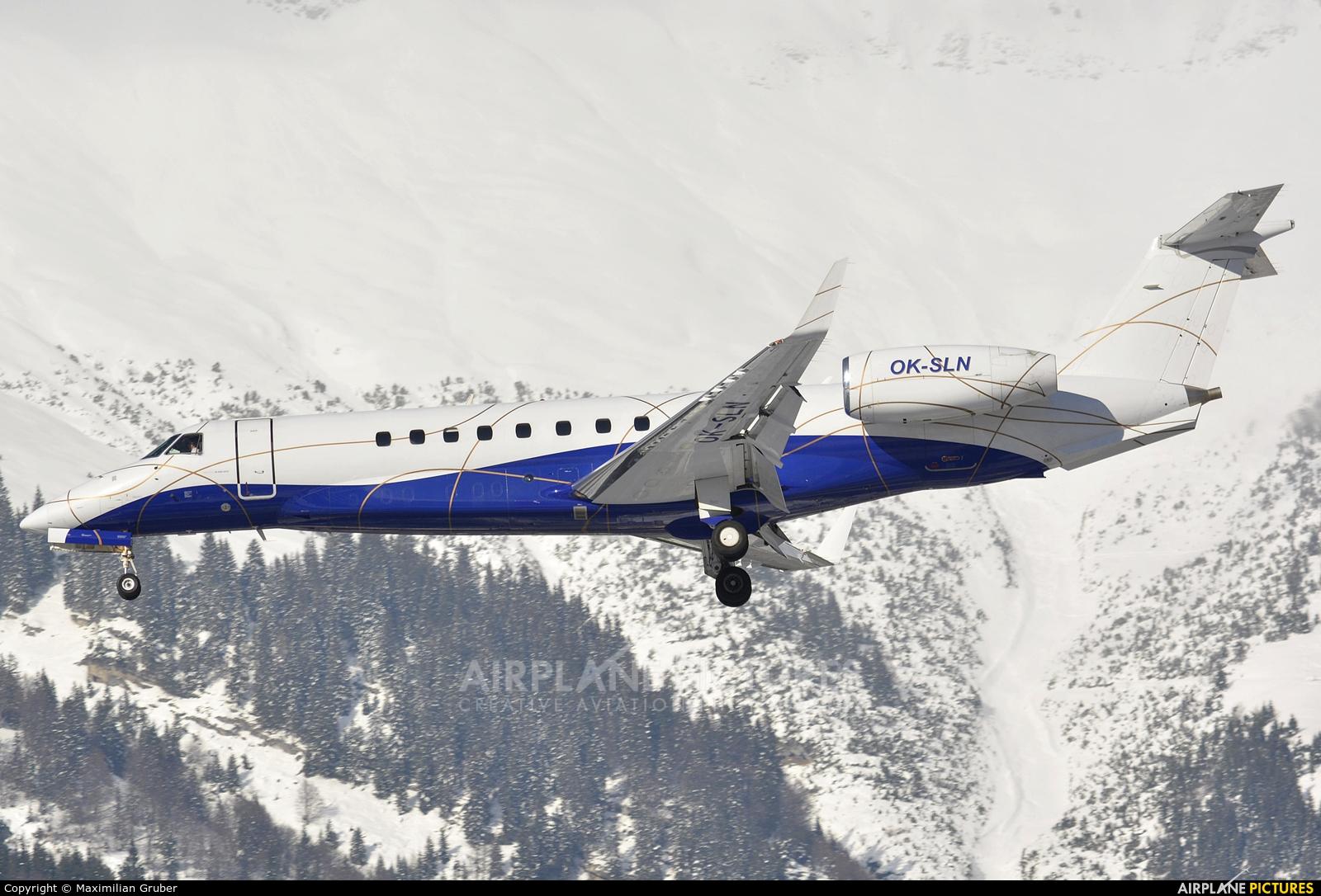 ABS Jets OK-SLN aircraft at Innsbruck