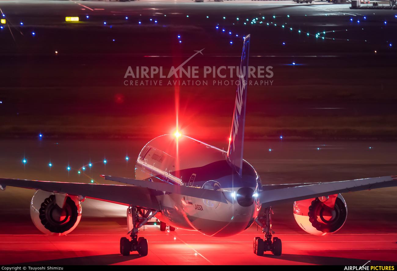 ANA - All Nippon Airways JA832A aircraft at Tokyo - Haneda Intl