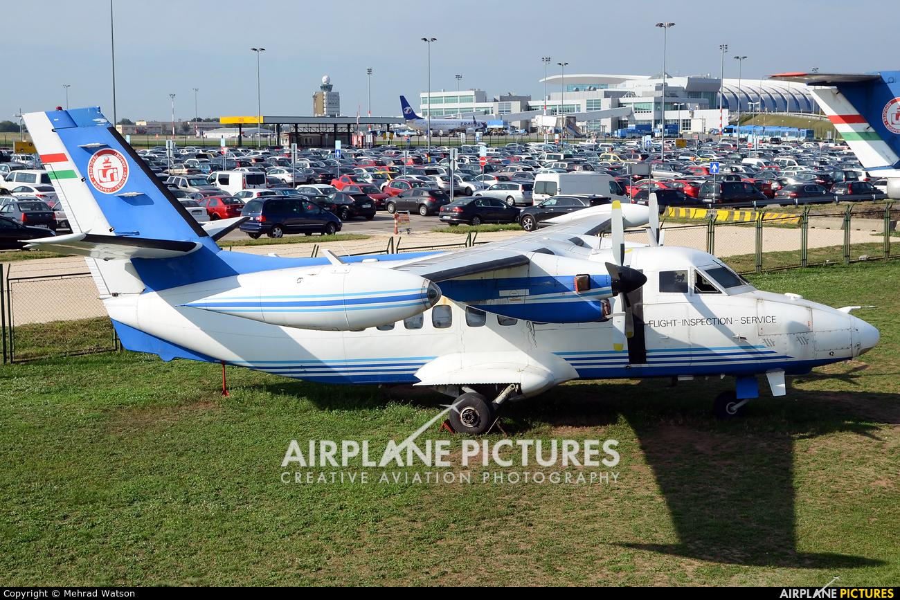 Budapest Aircraft Service HA-LAF aircraft at Budapest Ferenc Liszt International Airport