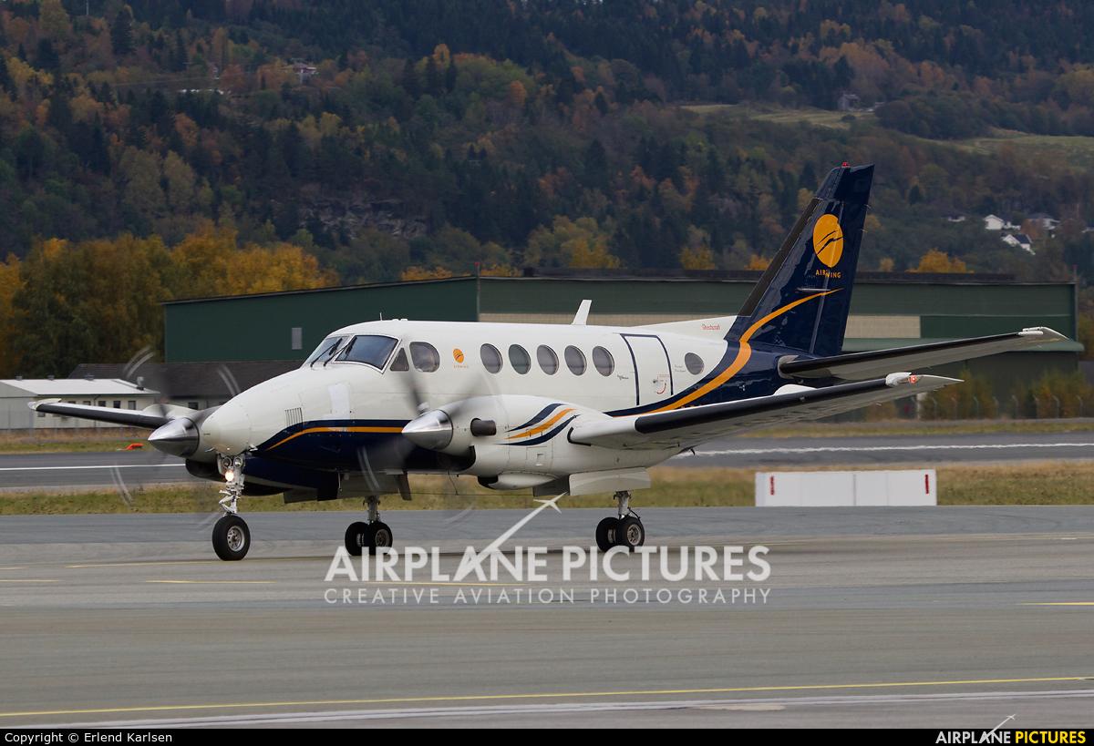 Airwing LN-AWA aircraft at Trondheim - Vaernes