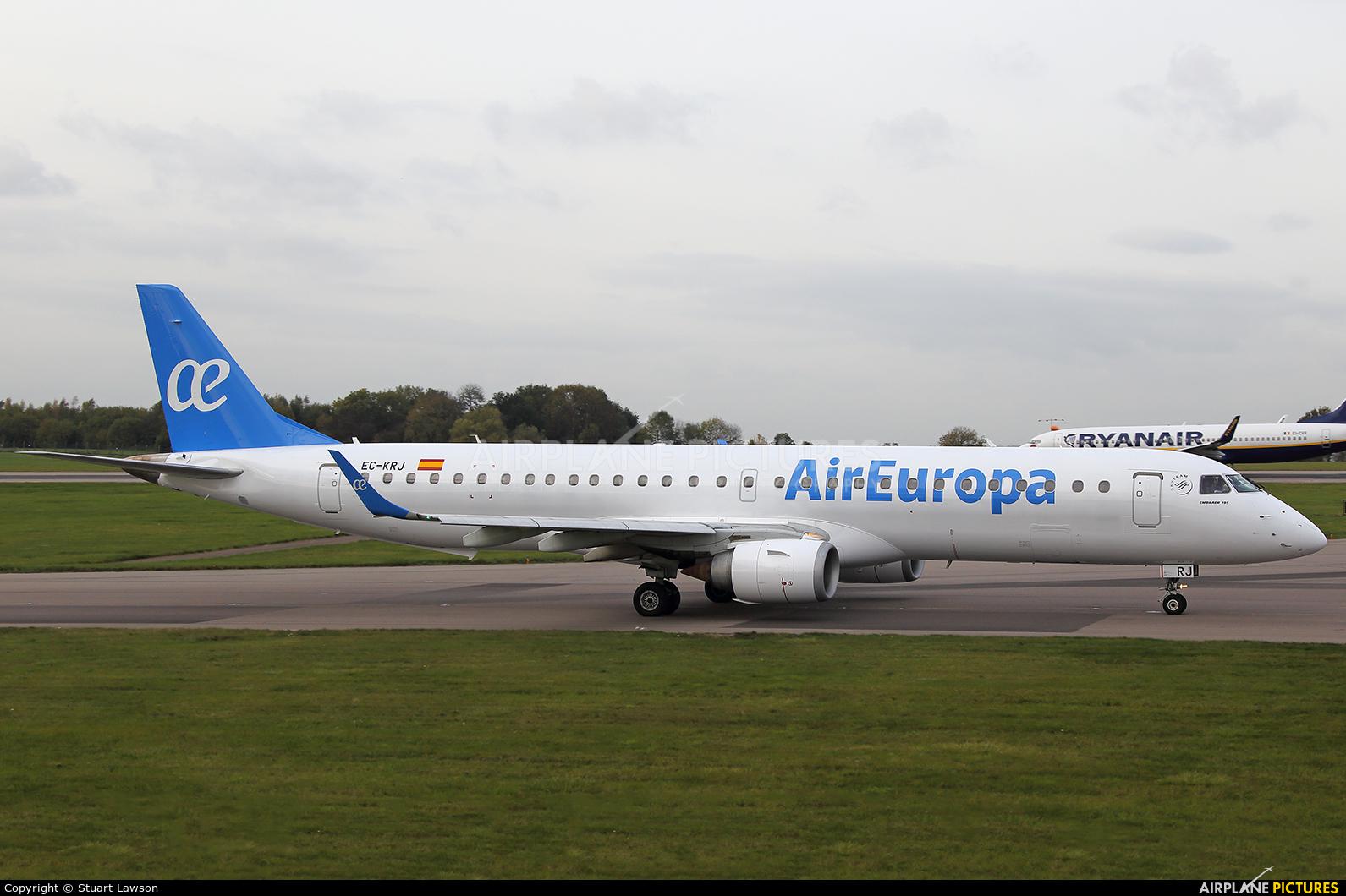 Air Europa EC-KRJ aircraft at East Midlands