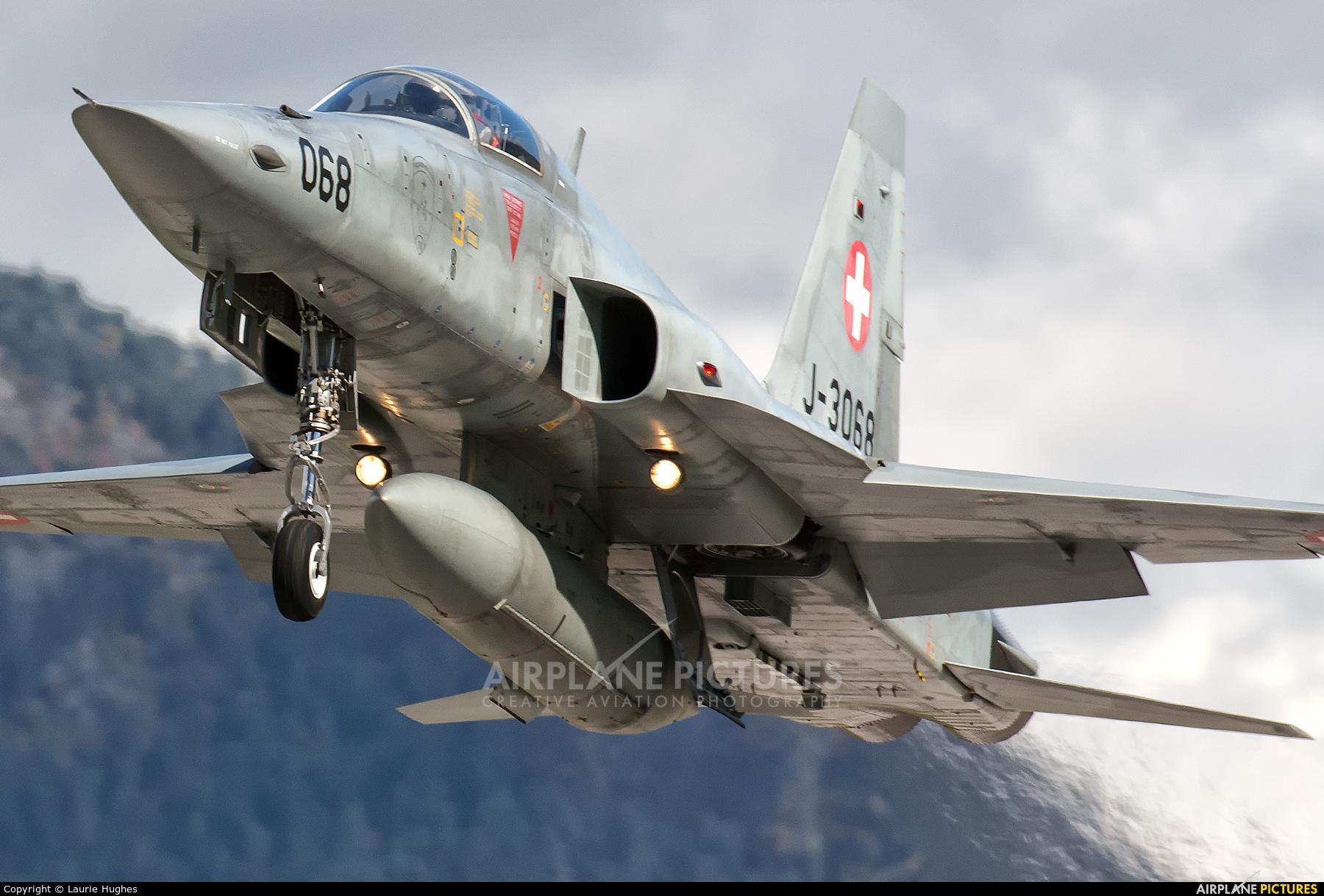 Switzerland - Air Force J-3068 aircraft at Sion