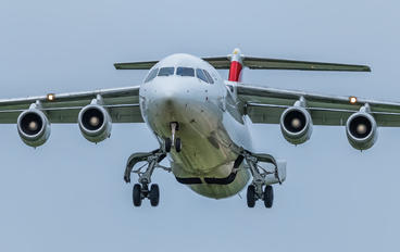 HB-IYZ - Swiss British Aerospace BAe 146-300/Avro RJ100