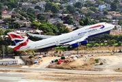 G-CIVA - British Airways Boeing 747-400 aircraft