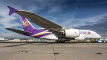 HS-TUD - Thai Airways Airbus A380 aircraft