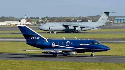 G-FRAO - Cobham Leasing Dassault Falcon 20