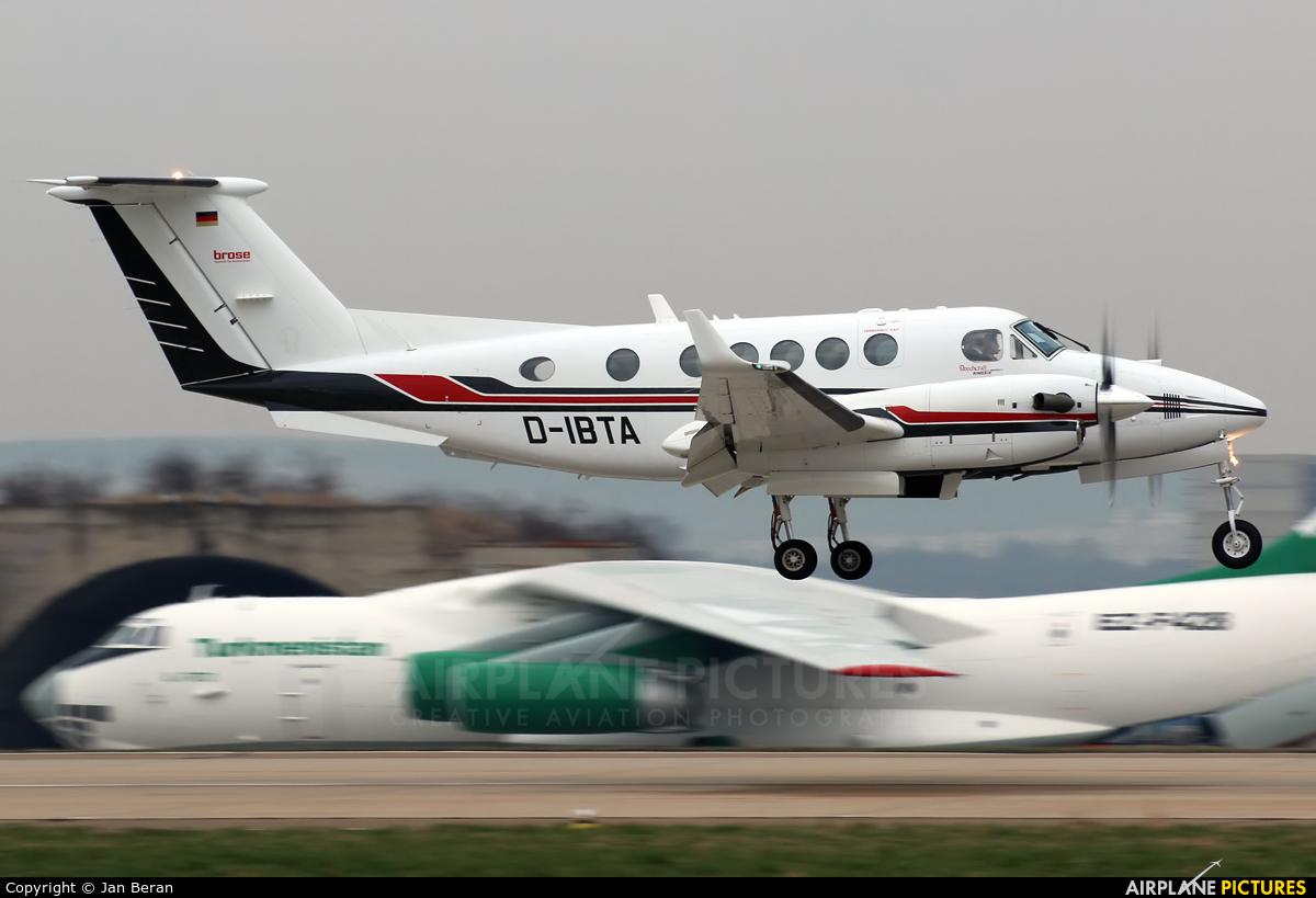 Brose D-IBTA aircraft at Brno - Tuřany