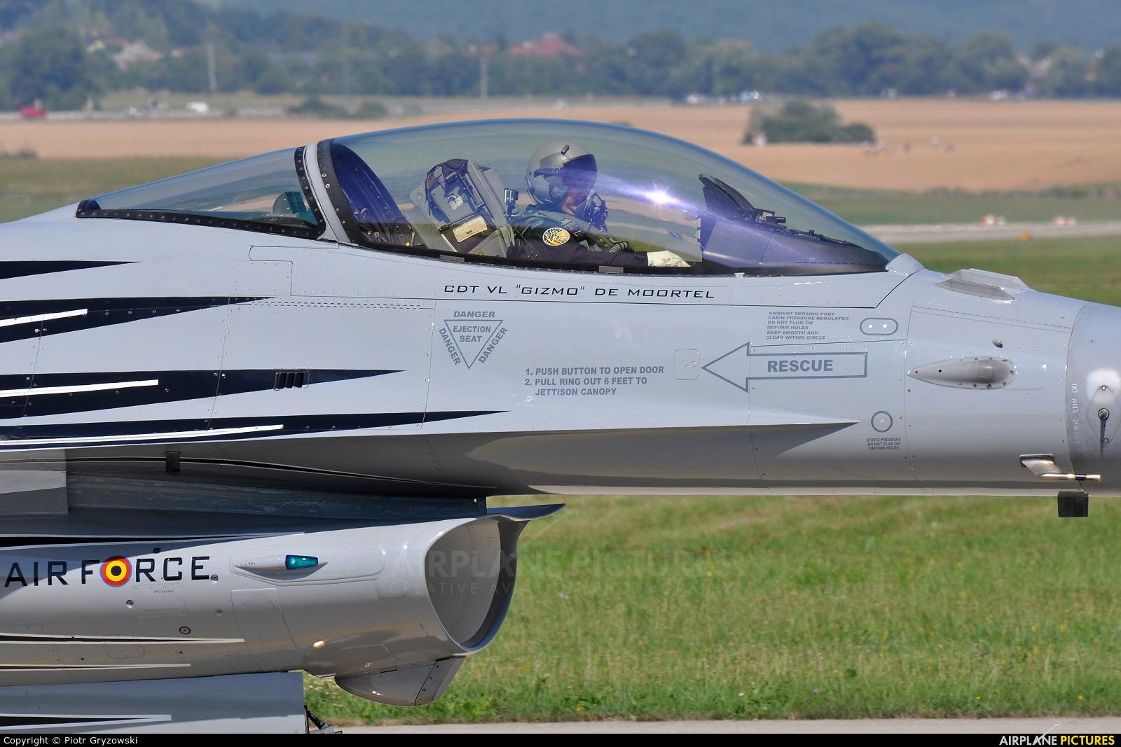 Belgium - Air Force FA-123 aircraft at Sliač