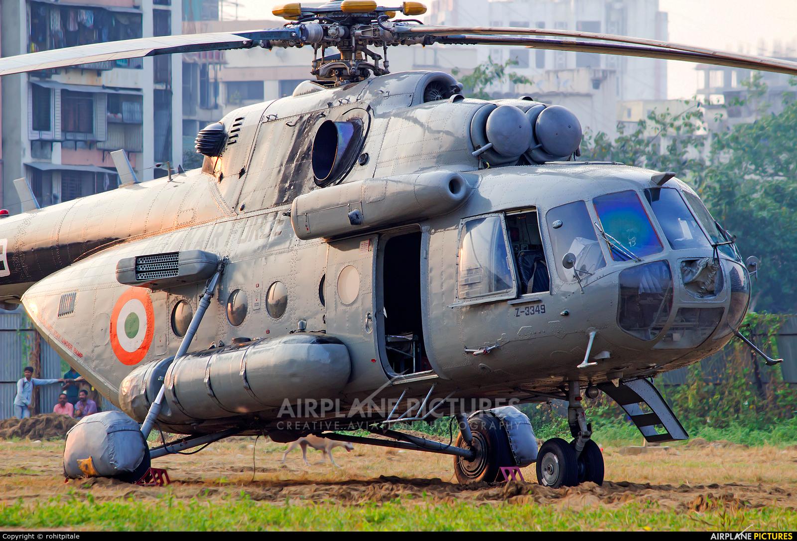 India - Air Force Z-3349 aircraft at Off Airport - India