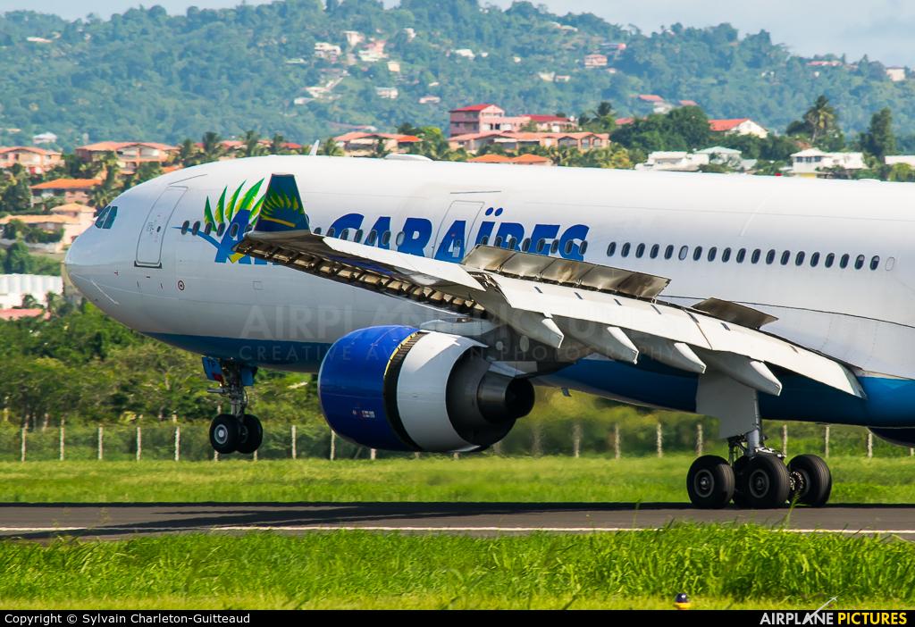 Air Caraibes F-HPTP aircraft at Martinique - Aimé Césaire